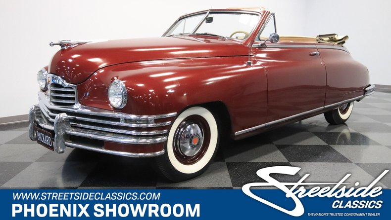 For Sale: 1949 Packard Super Eight