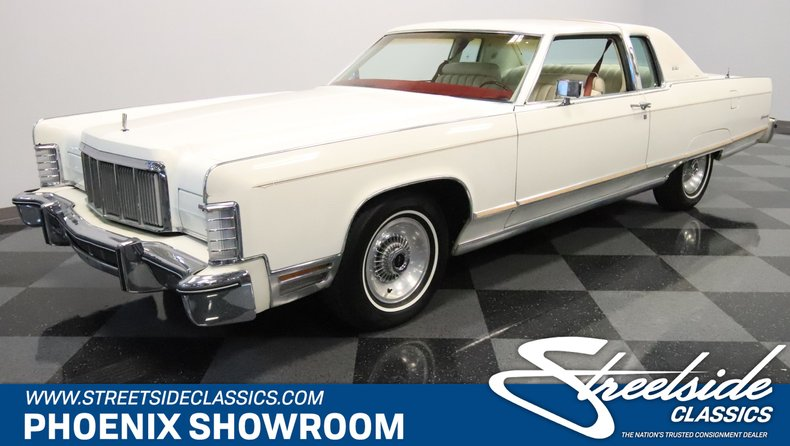For Sale: 1976 Lincoln Continental
