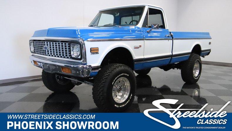 1971 Chevrolet 3/4 Ton Pickup For Sale