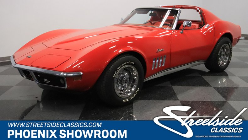 Corvette Stingray 1969 >> 1969 Chevrolet Corvette Streetside Classics The Nation S Trusted