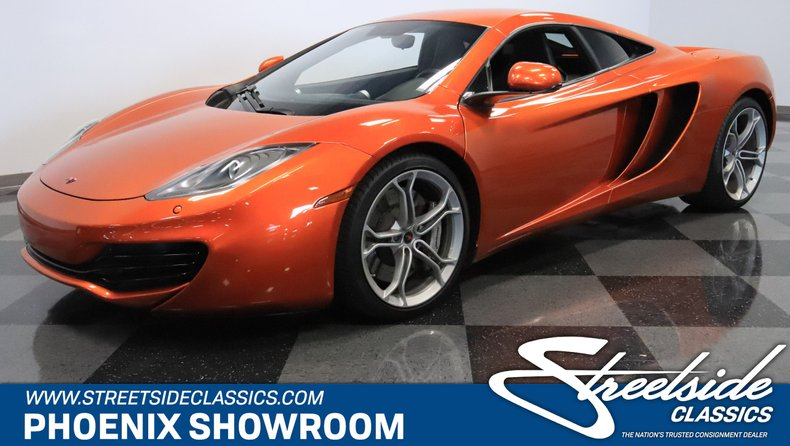 For Sale: 2012 McLaren MP4-12C