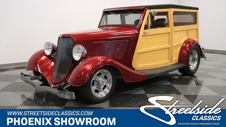 For Sale: 1933 Ford Woody Wagon