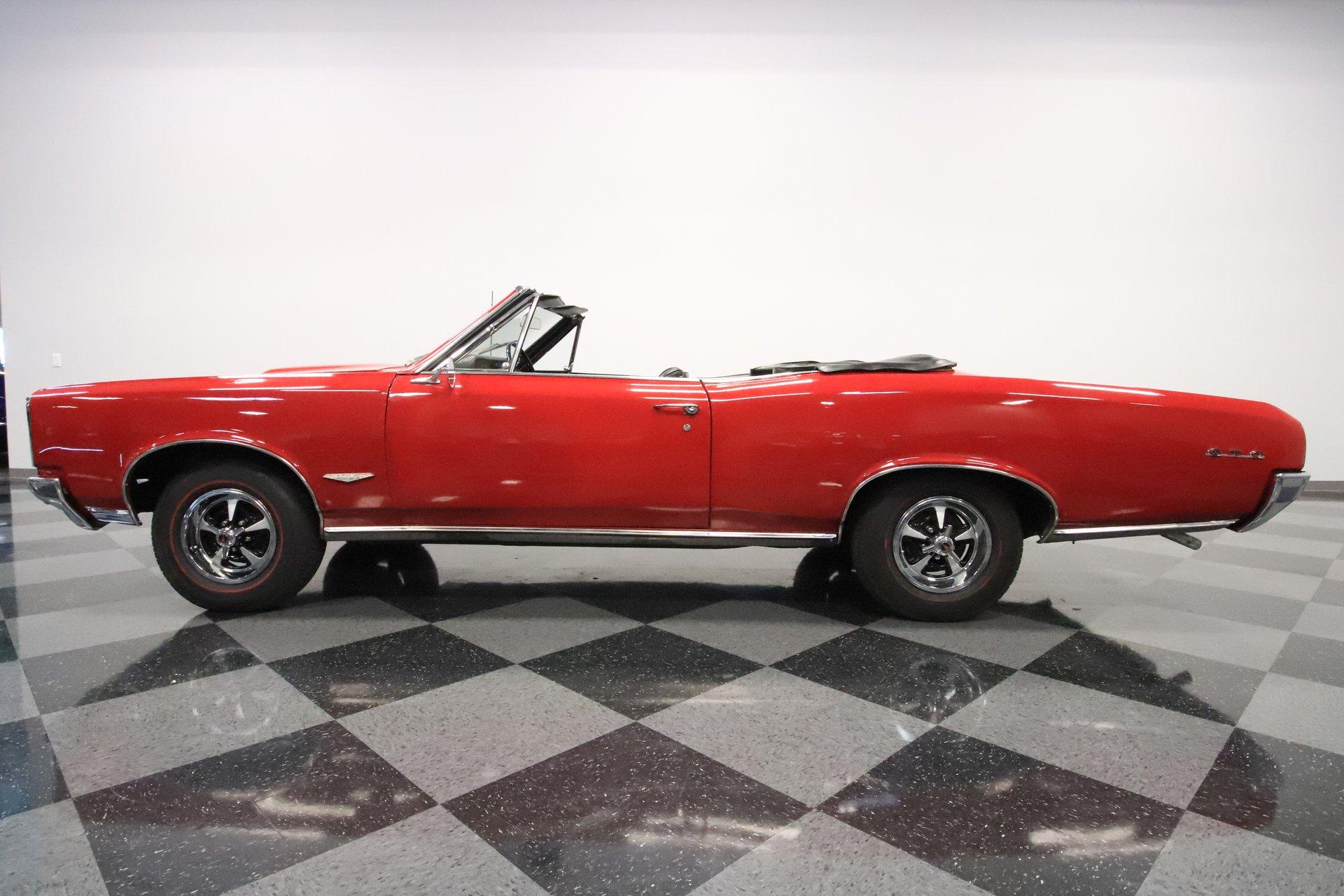 1966 pontiac gto convertible tribute