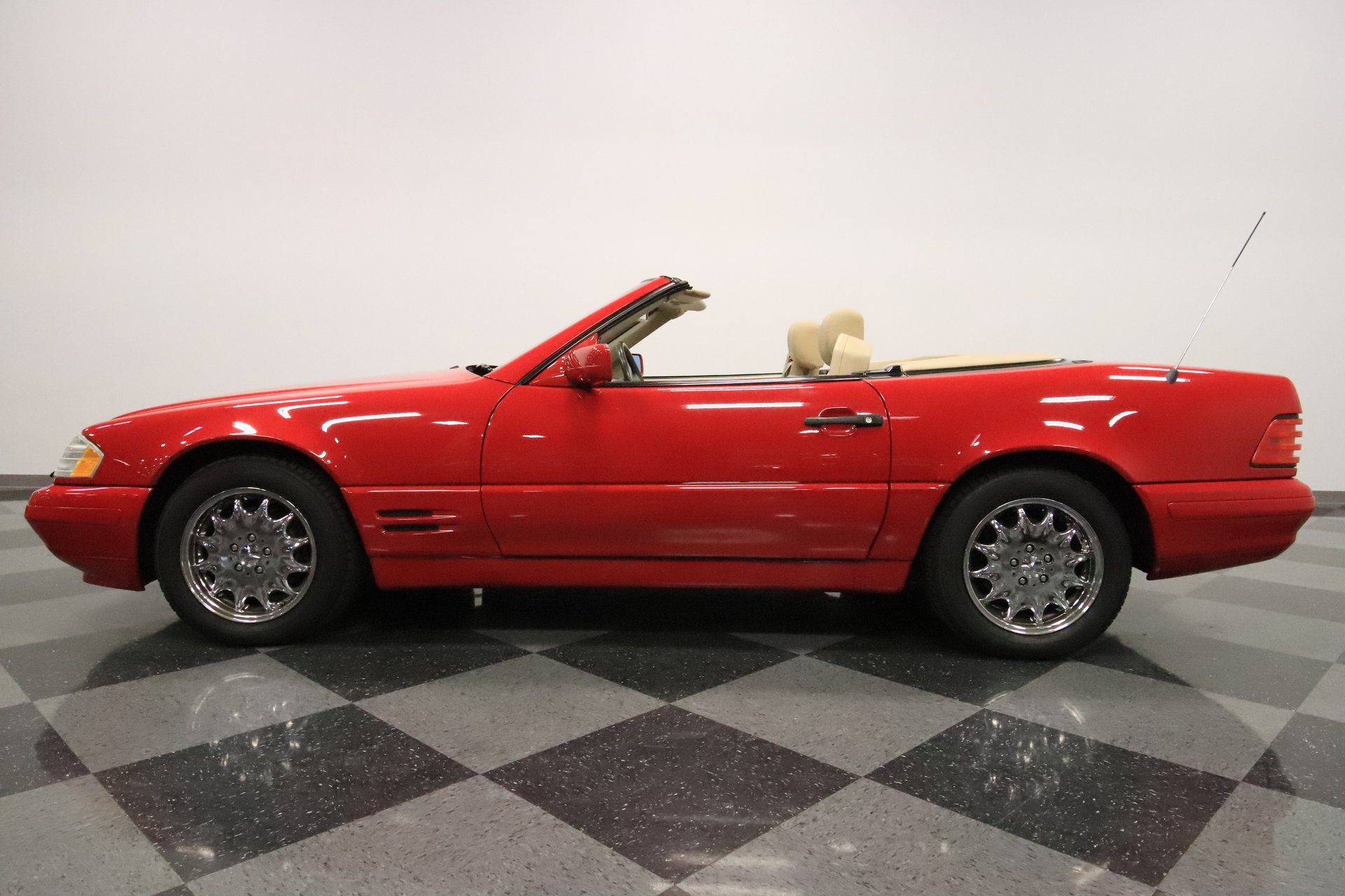 1997 mercedes benz sl500 convertible