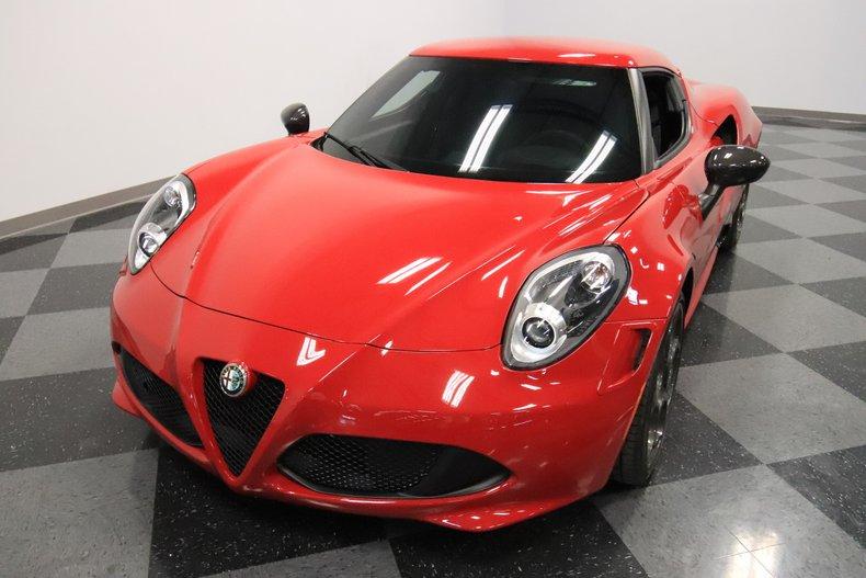 2015 Alfa Romeo 4C 20