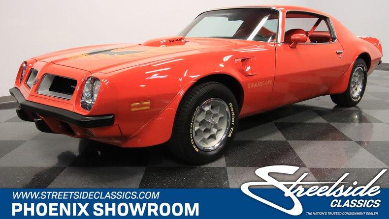 For Sale: 1974 Pontiac Firebird