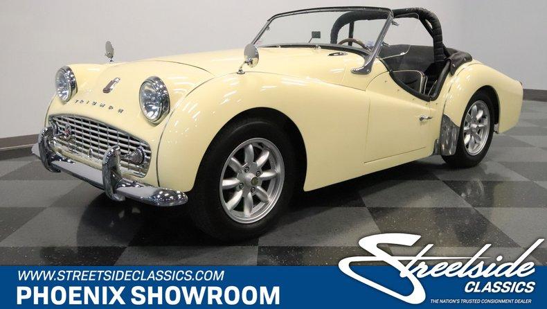 For Sale: 1959 Triumph TR3A