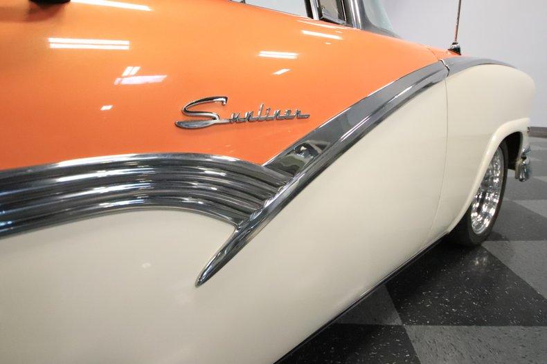 1956 Ford Sunliner 74