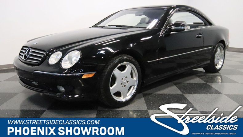 2002 Mercedes-Benz CL500 For Sale