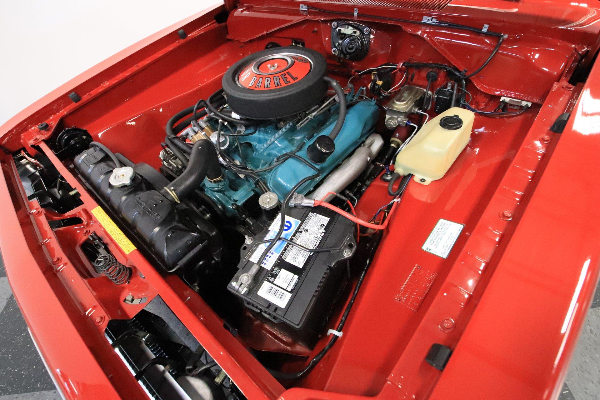 1968 Barracuda Specs