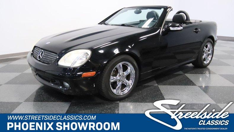 For Sale: 2001 Mercedes-Benz SLK320