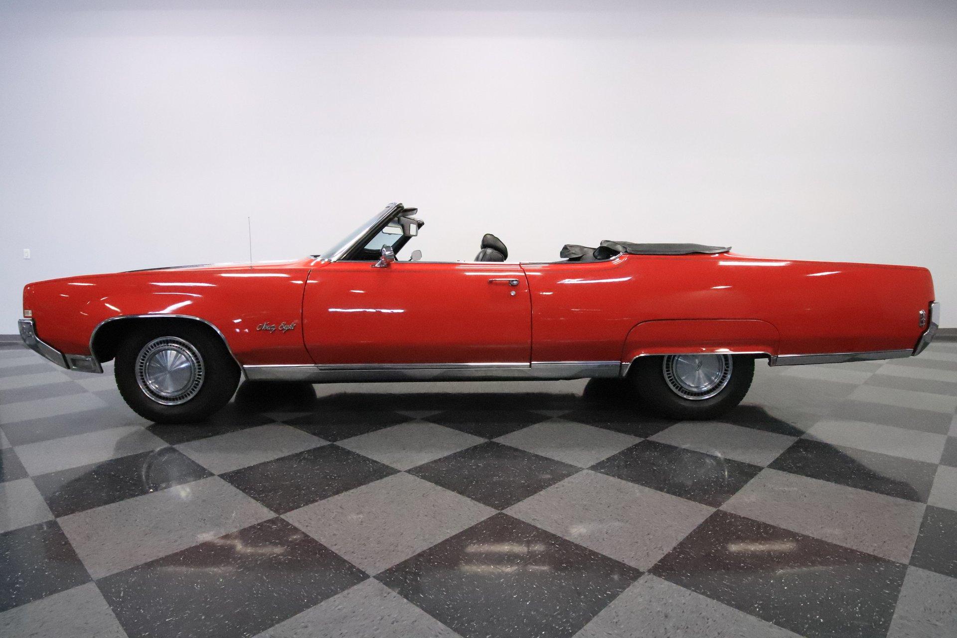 1969 oldsmobile ninety eight convertible