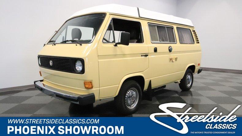 1980 Volkswagen Westfalia Camper For Sale