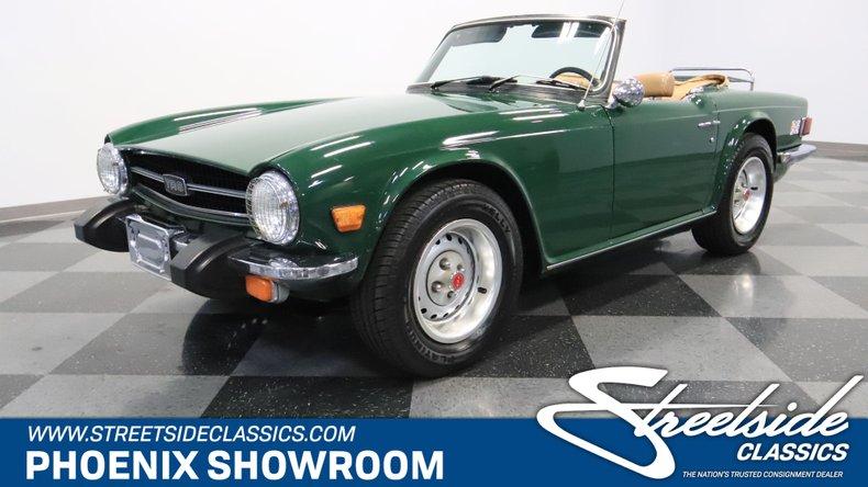 For Sale: 1976 Triumph TR6