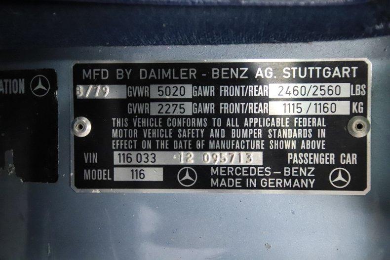1979 Mercedes-Benz 450SEL 68