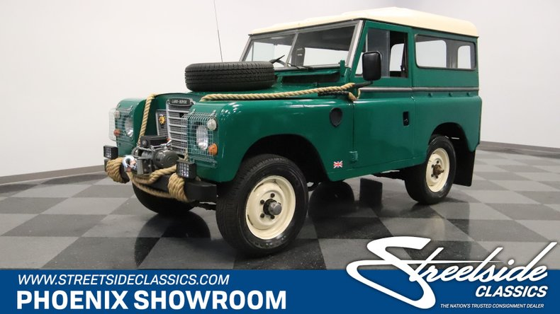 For Sale: 1974 Land Rover Series III