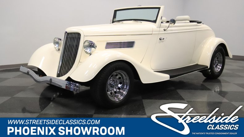 For Sale: 1934 Ford Cabriolet