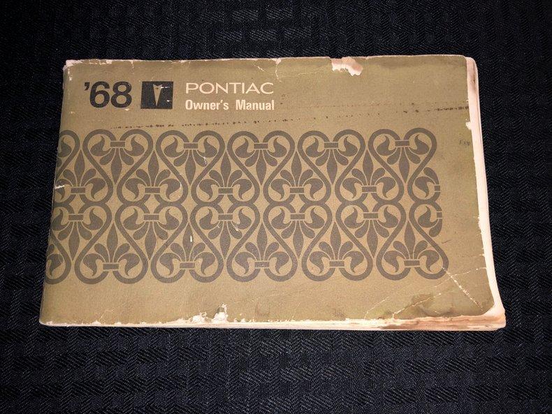 1968 Pontiac Firebird 70