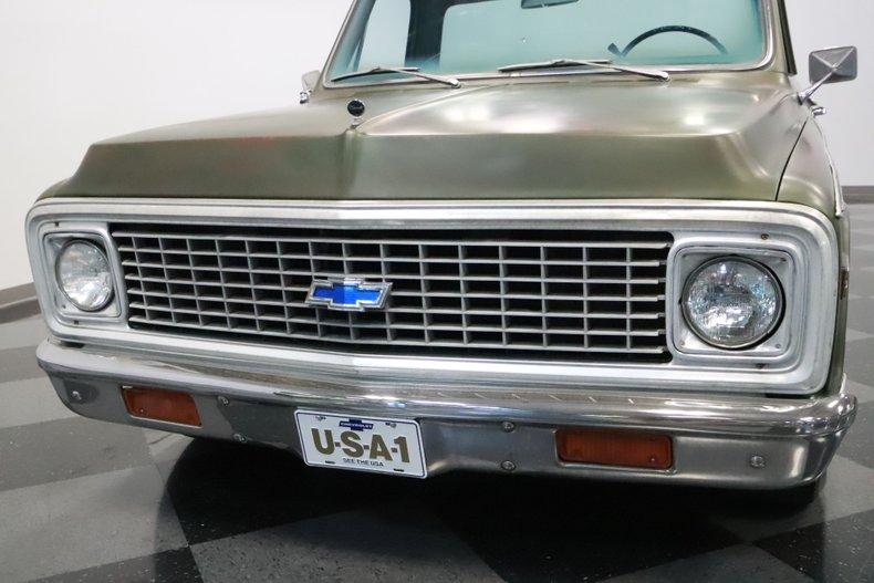 1972 Chevrolet C10 22
