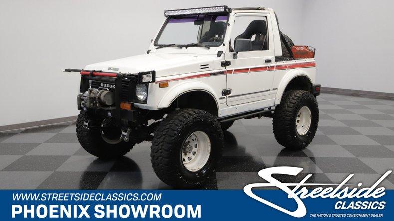 For Sale: 1987 Suzuki Samurai