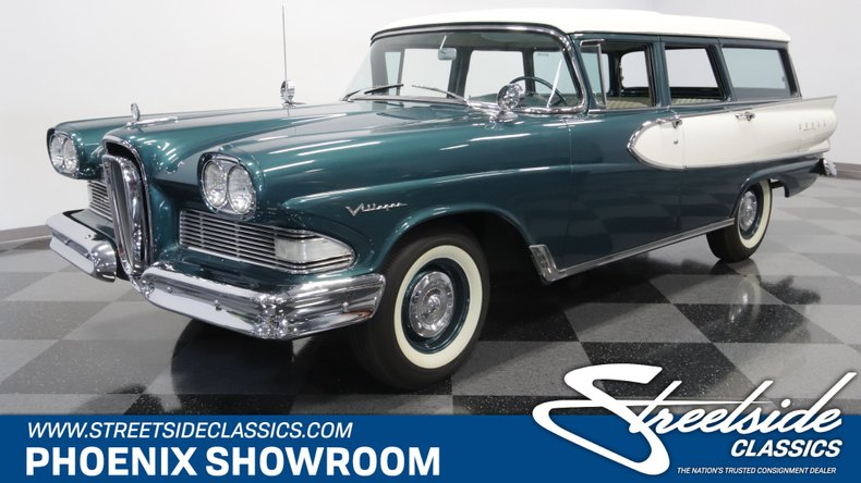 For Sale: 1958 Edsel Villager Wagon