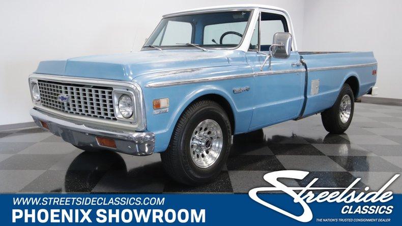 For Sale: 1972 Chevrolet C20