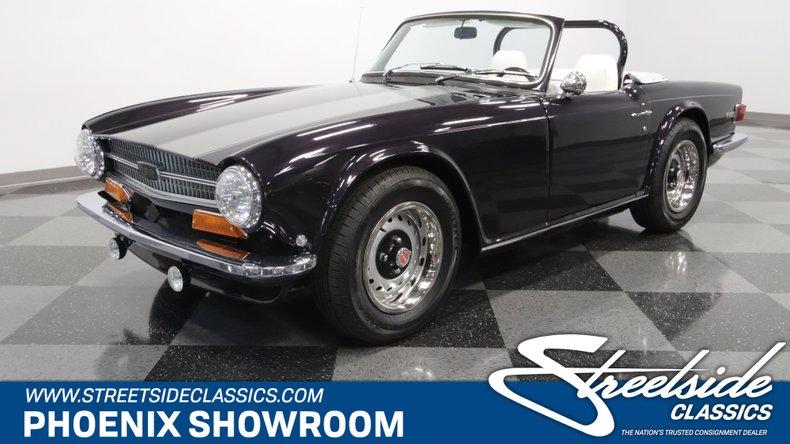 For Sale: 1971 Triumph TR6