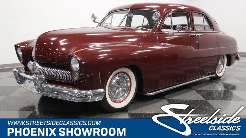 For Sale: 1950 Mercury Sport Sedan