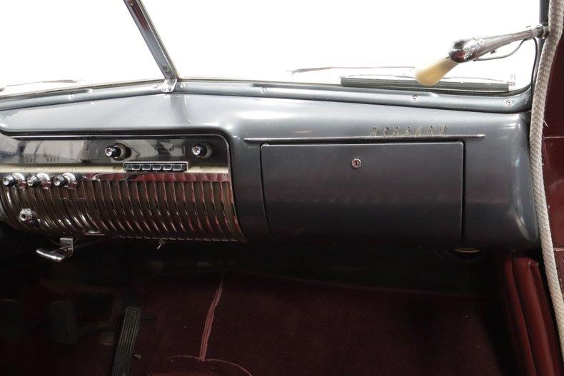 1950 Mercury Sport Sedan 48