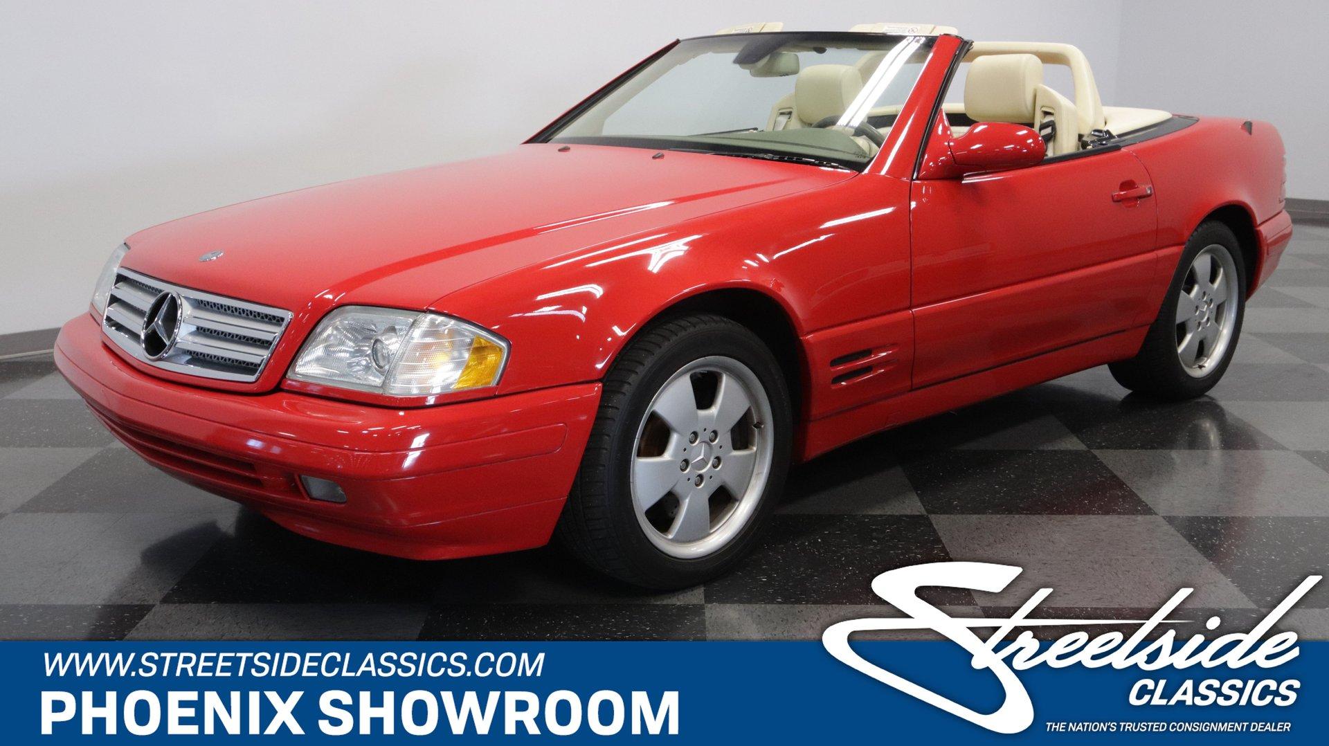2000 mercedes benz sl500 streetside classics the nation s trusted classic car consignment dealer streetside classics