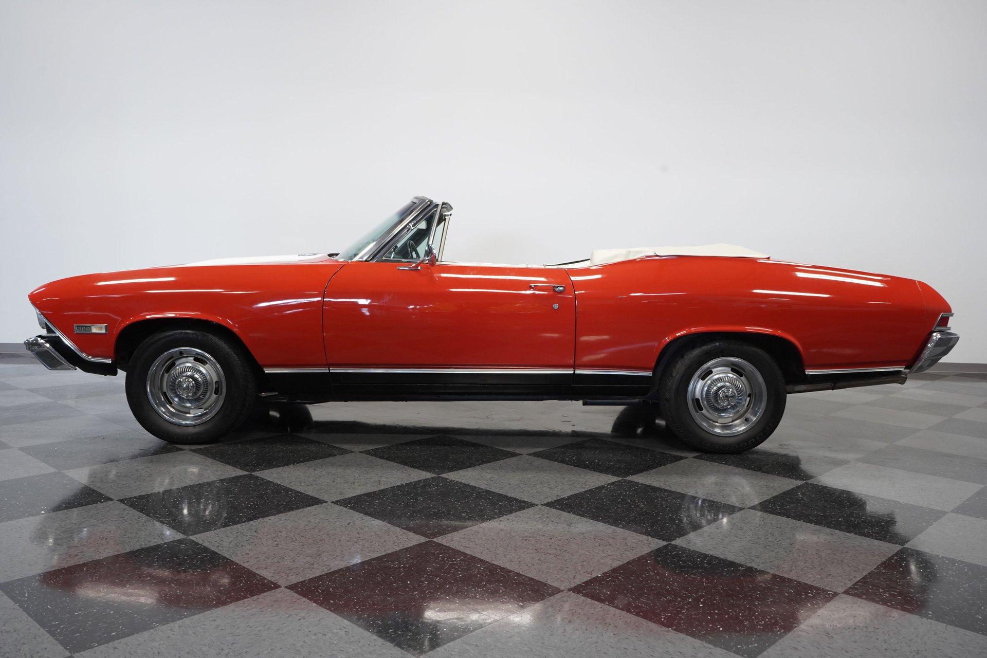 1968 chevrolet chevelle ss 396 convertible