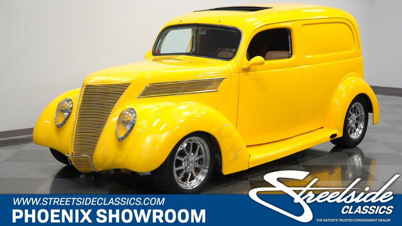 For Sale: 1937 Ford Panel Delivery
