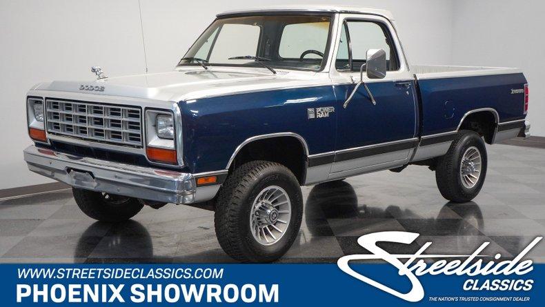 For Sale: 1984 Dodge Ram