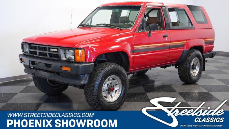 For Sale: 1986 Toyota 4Runner
