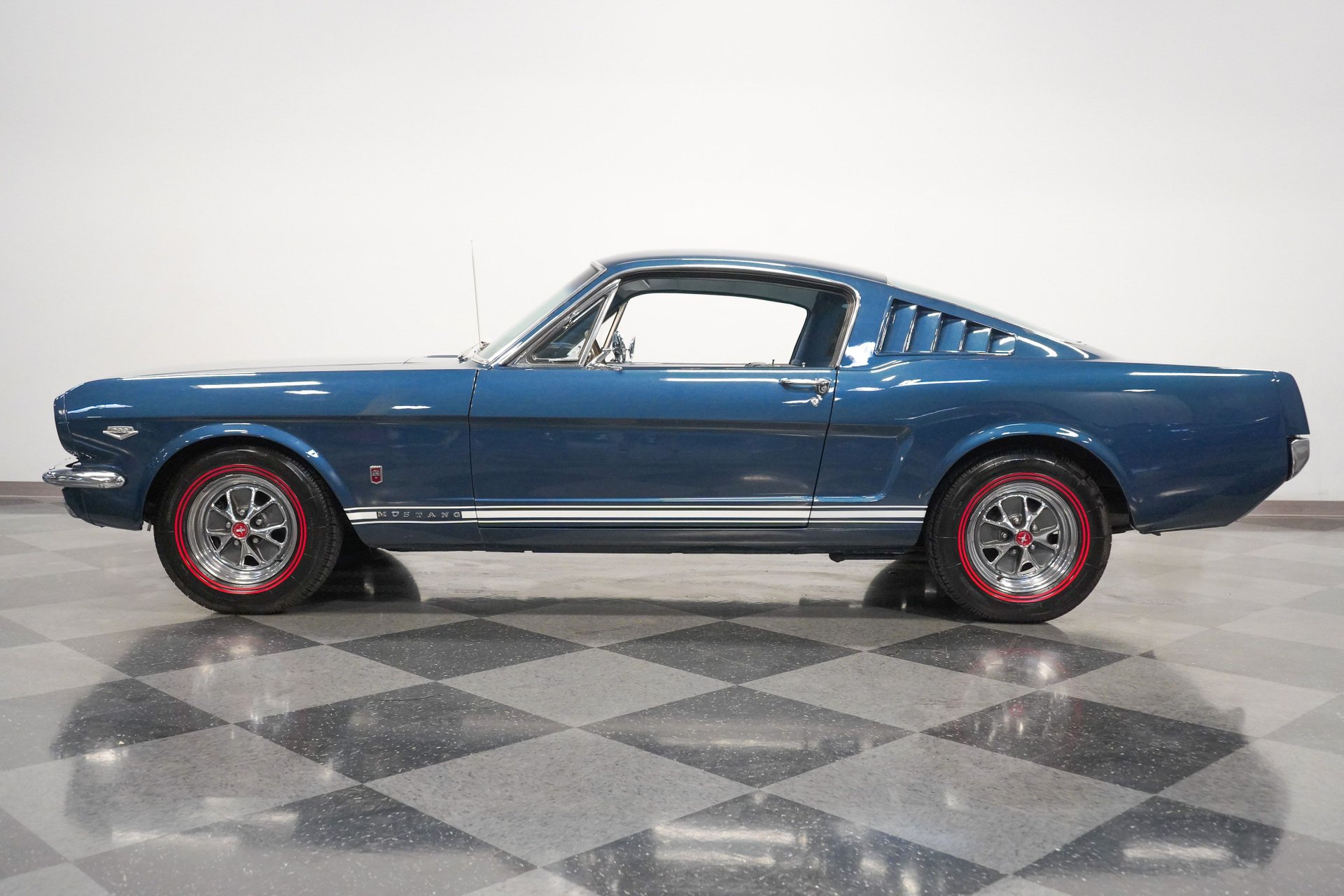 1965 ford mustang gt k code