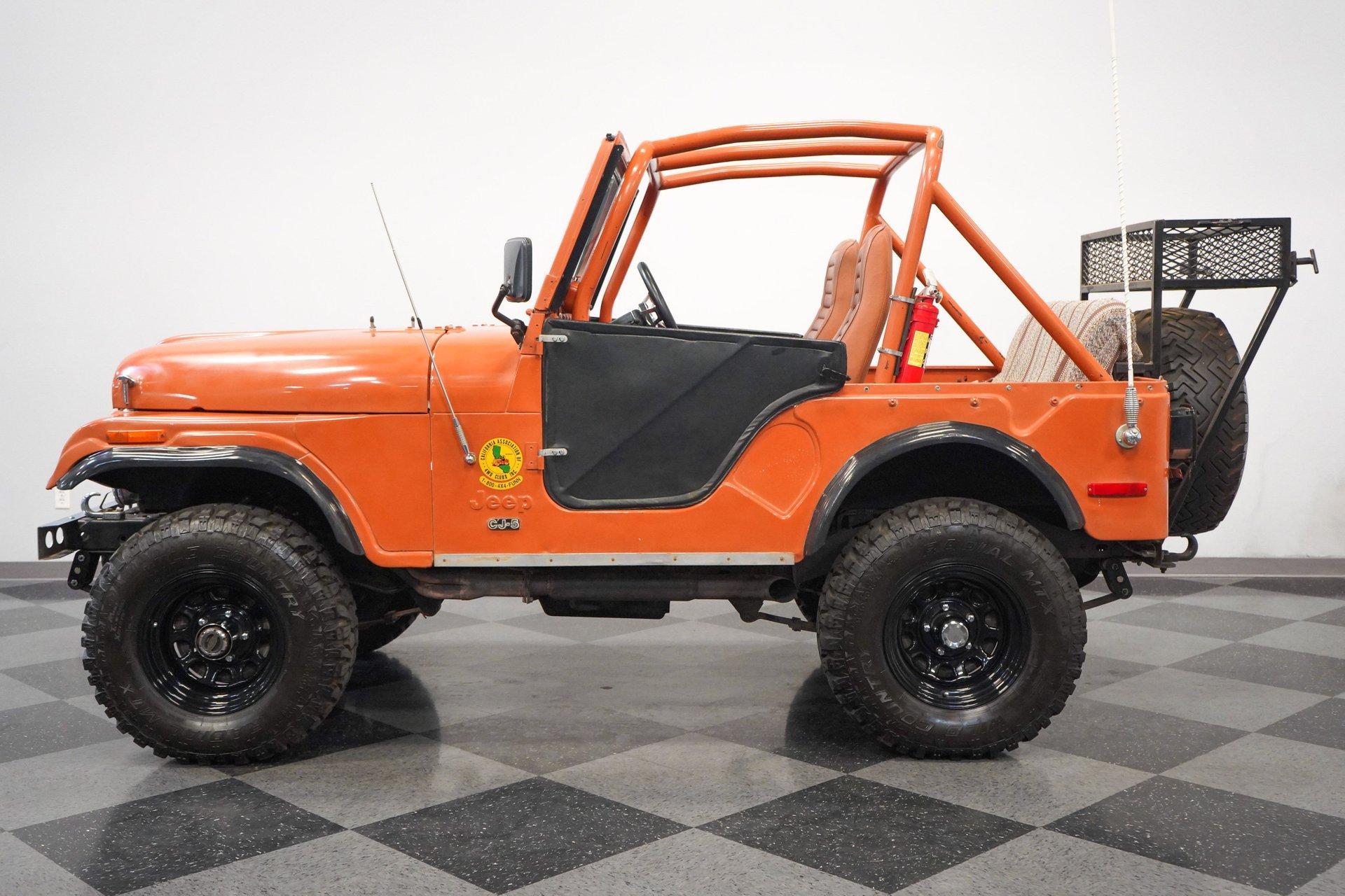 1976 jeep cj5 4x4 renegade