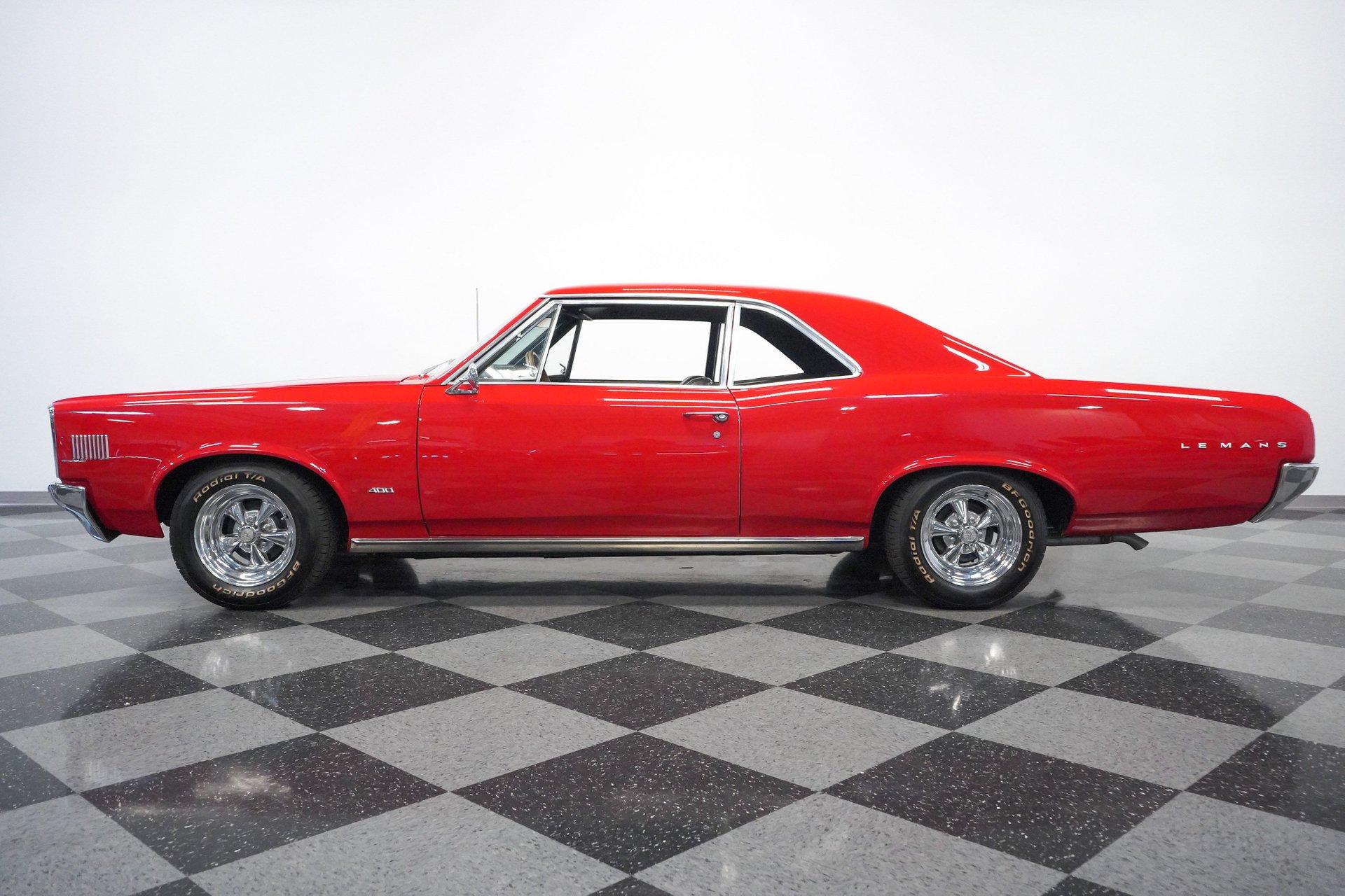 1966 pontiac lemans sports coupe