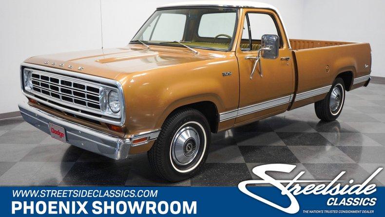 For Sale: 1975 Dodge D100