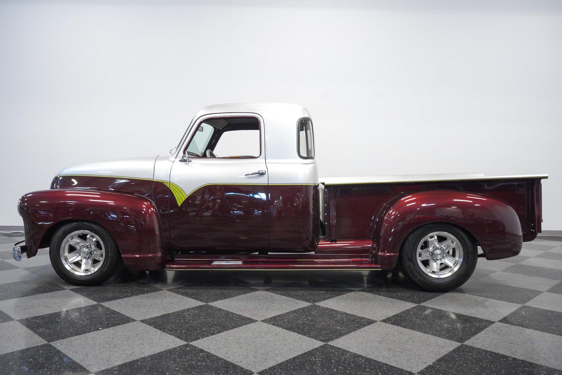 1953 chevrolet 3100 custom