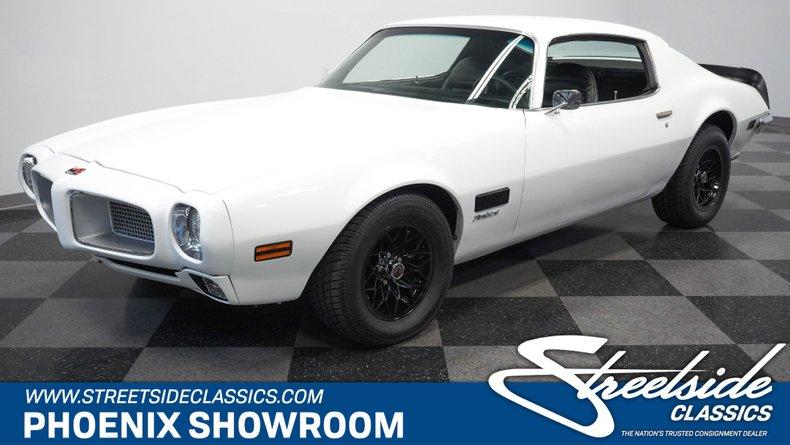 For Sale: 1971 Pontiac Firebird