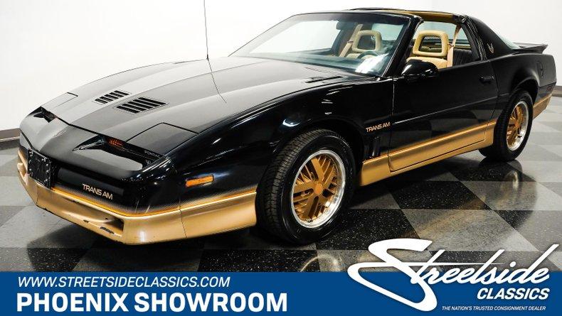 For Sale: 1985 Pontiac Firebird