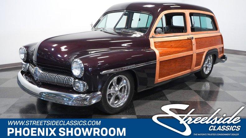 For Sale: 1950 Mercury Woody