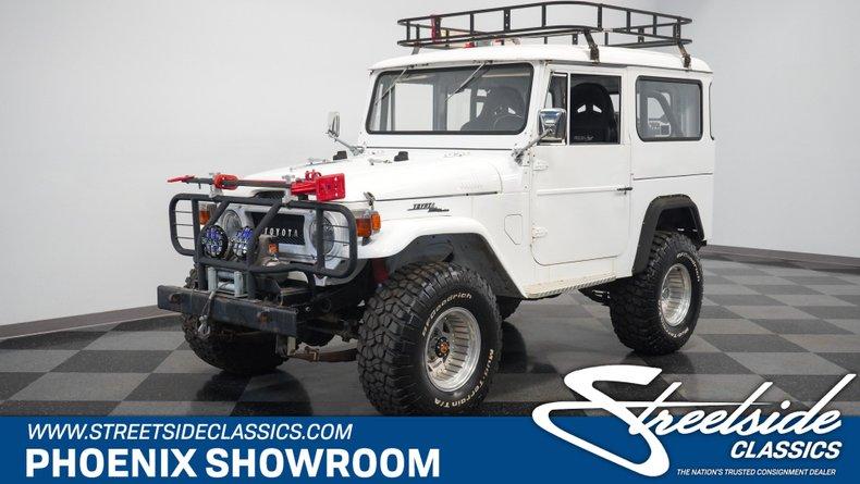 For Sale: 1967 Toyota FJ40