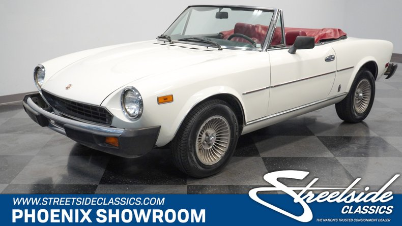 For Sale: 1979 Fiat Spider 2000