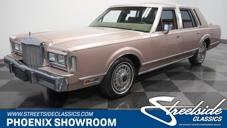 For Sale: 1986 Lincoln Town Car
