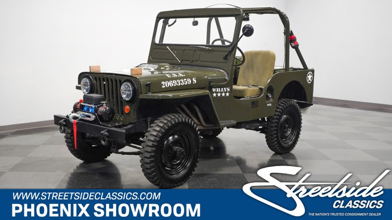 For Sale: 1952 Willys M38