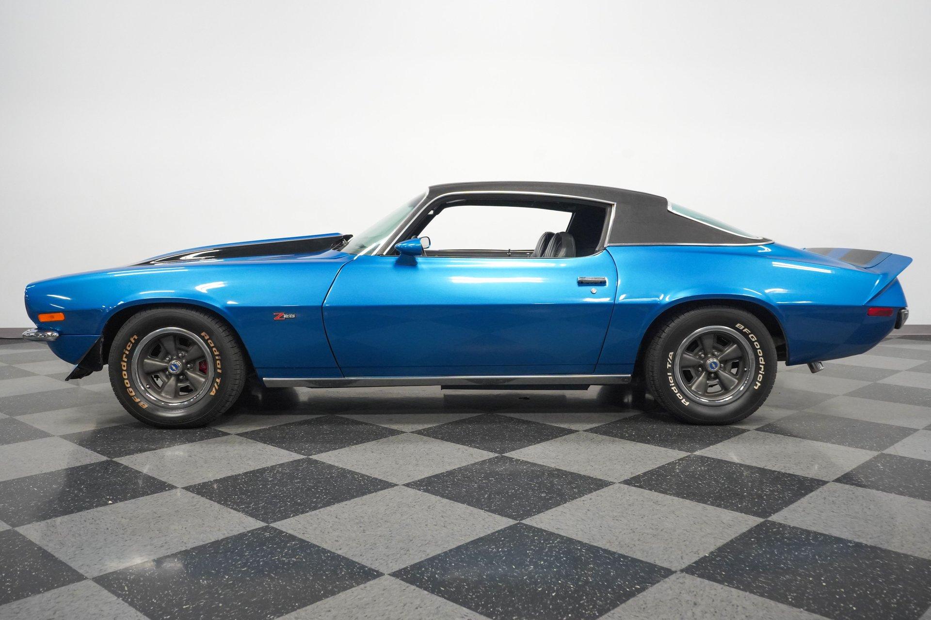 1973 chevrolet camaro z 28 rs tribute