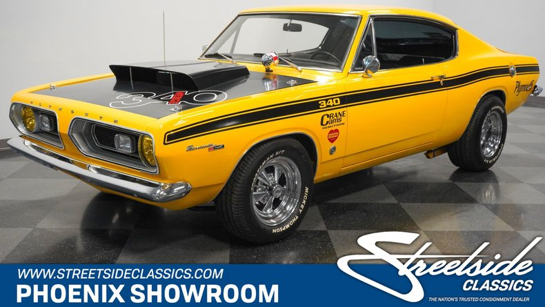 For Sale: 1967 Plymouth Barracuda