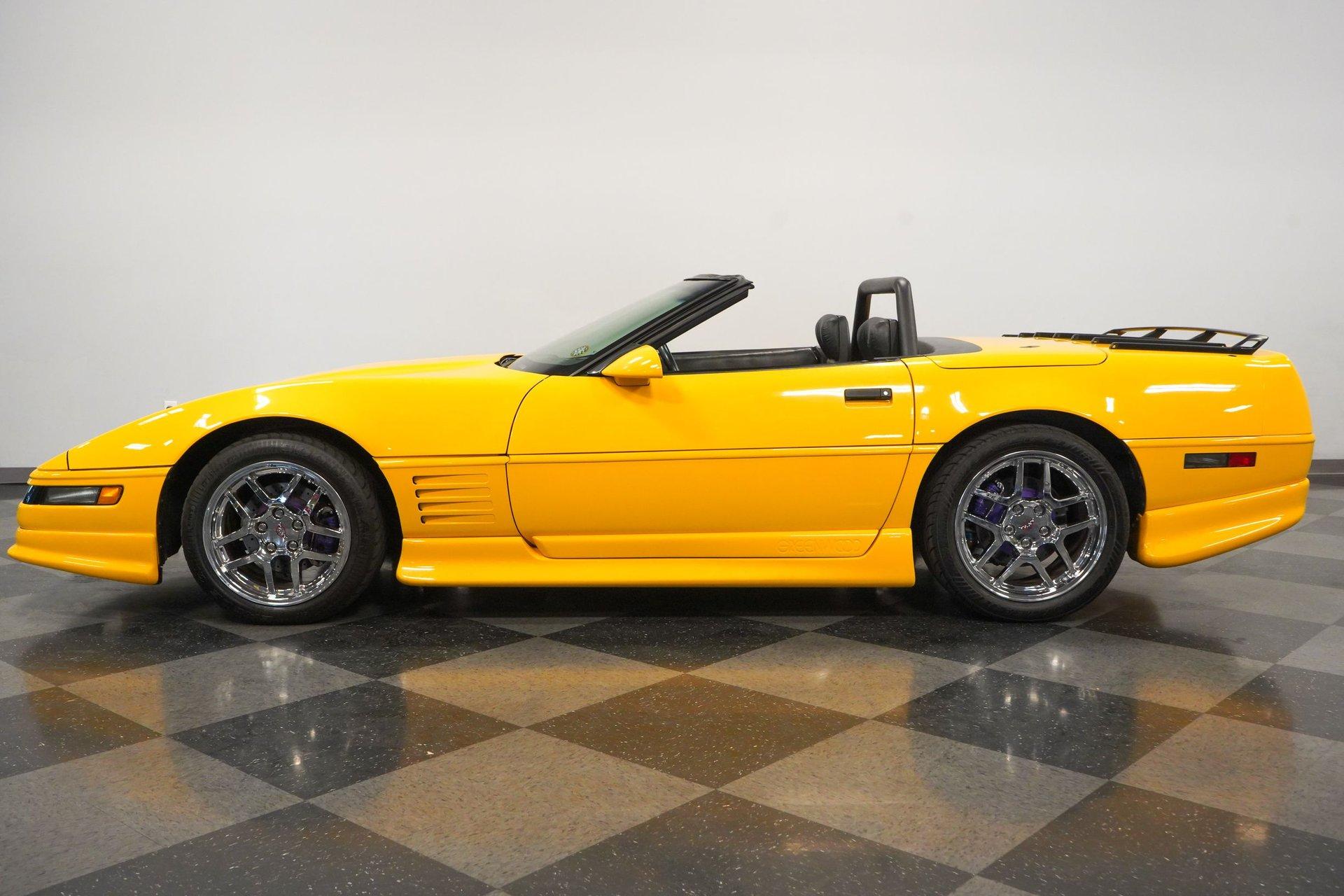 1993 chevrolet corvette greenwood edition