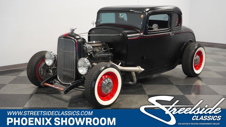 For Sale: 1932 Ford 5-Window Coupe